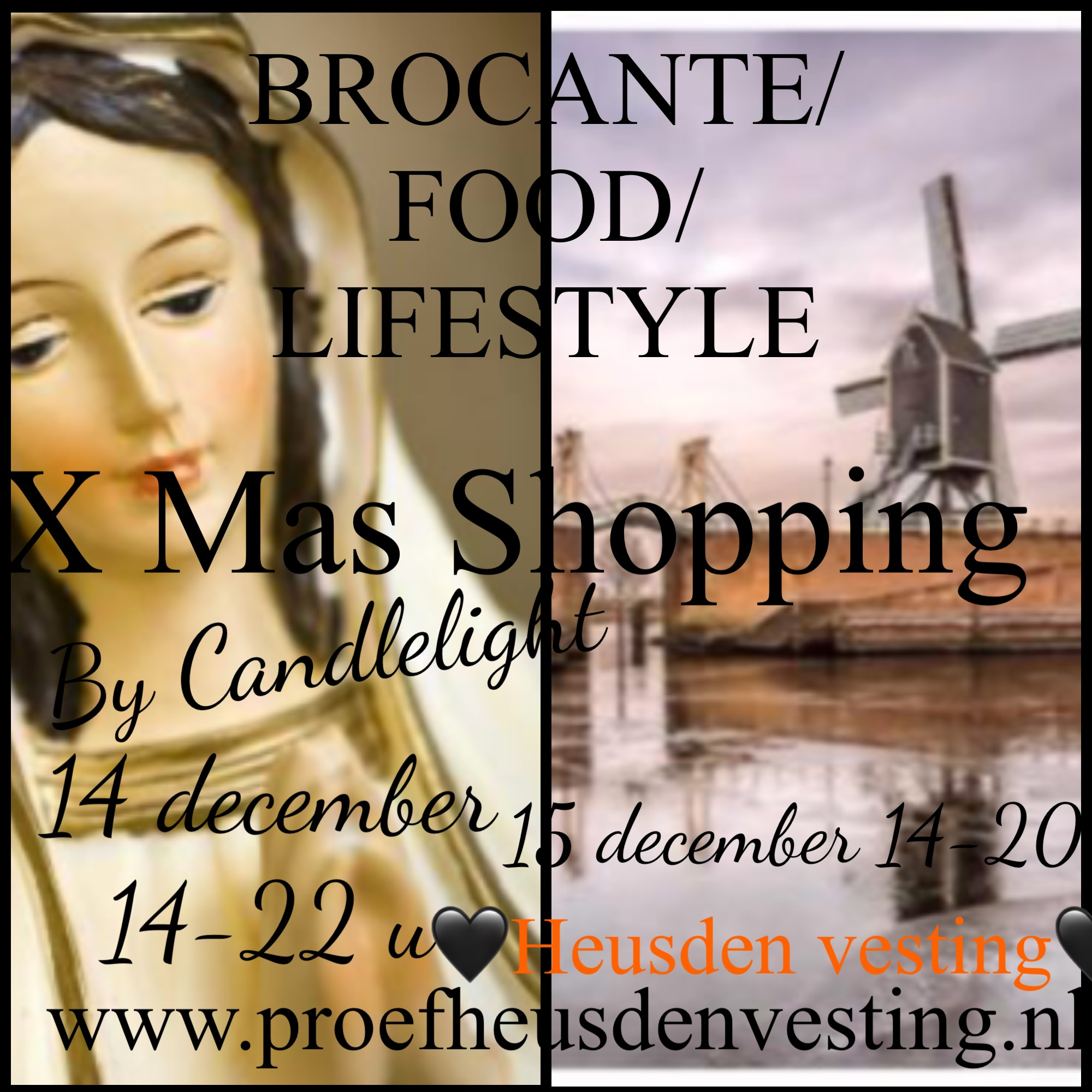 X Mas Shopping by Candlelight in Heusden-Vesting, Noord-Brabant