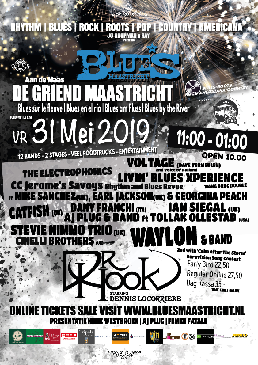 Blues aan de Maas in Maastricht, Limburg