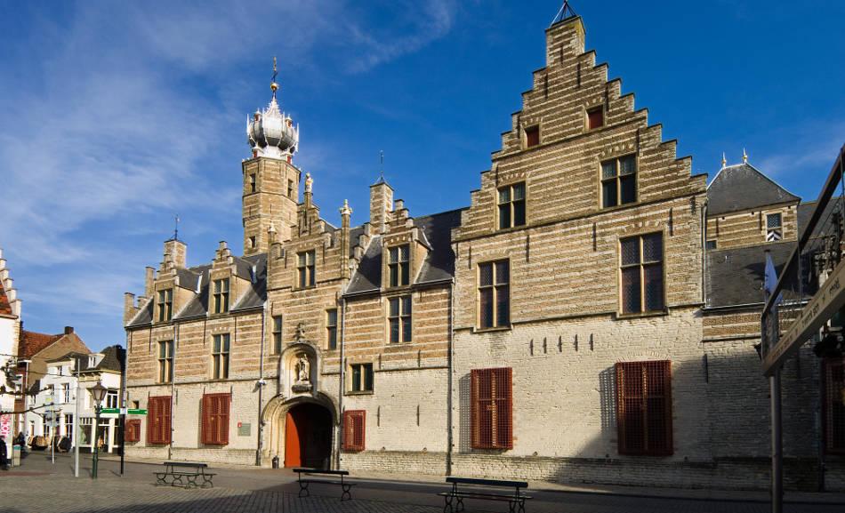 Het Markiezenhof  in Bergen op Zoom, Noord-Brabant