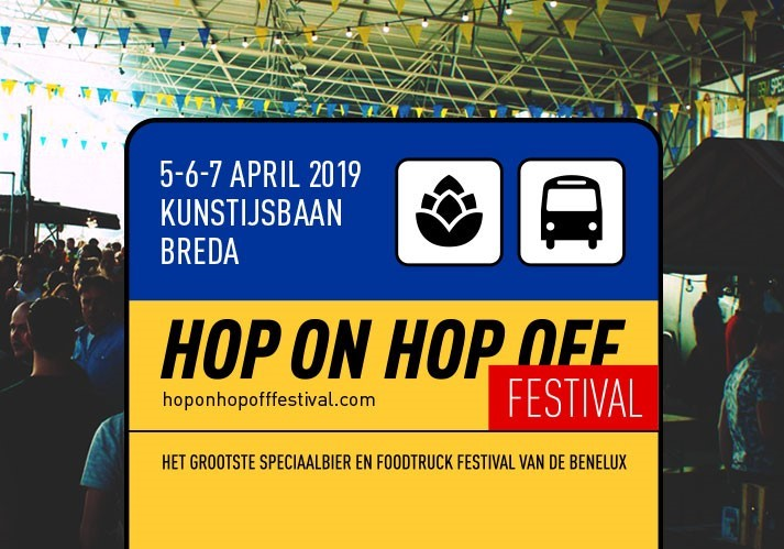 Hop On Hop Off Festival in Breda, Noord-Brabant