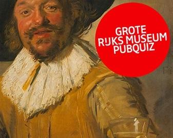 Grote Rijksmuseum Pubquiz in Diverse locaties, Nederland