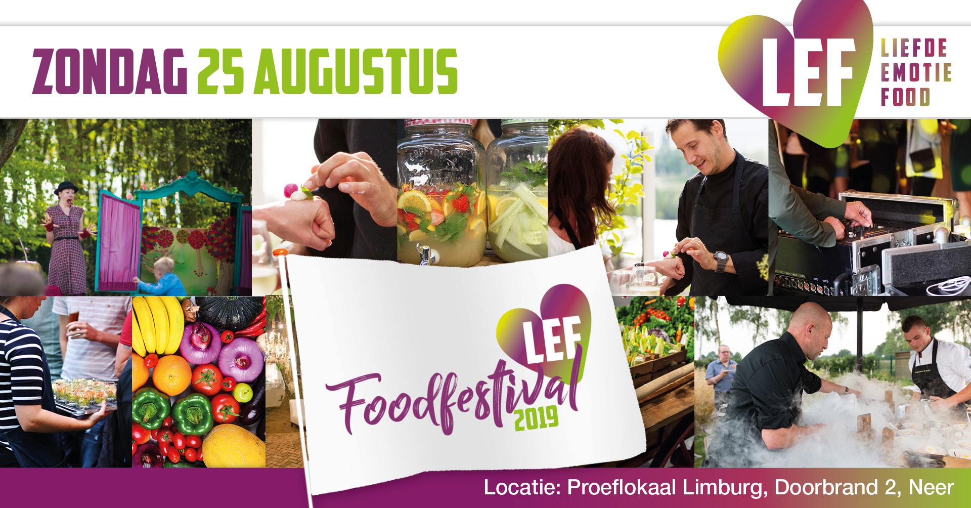 LEF Foodfestival in Neer, Limburg