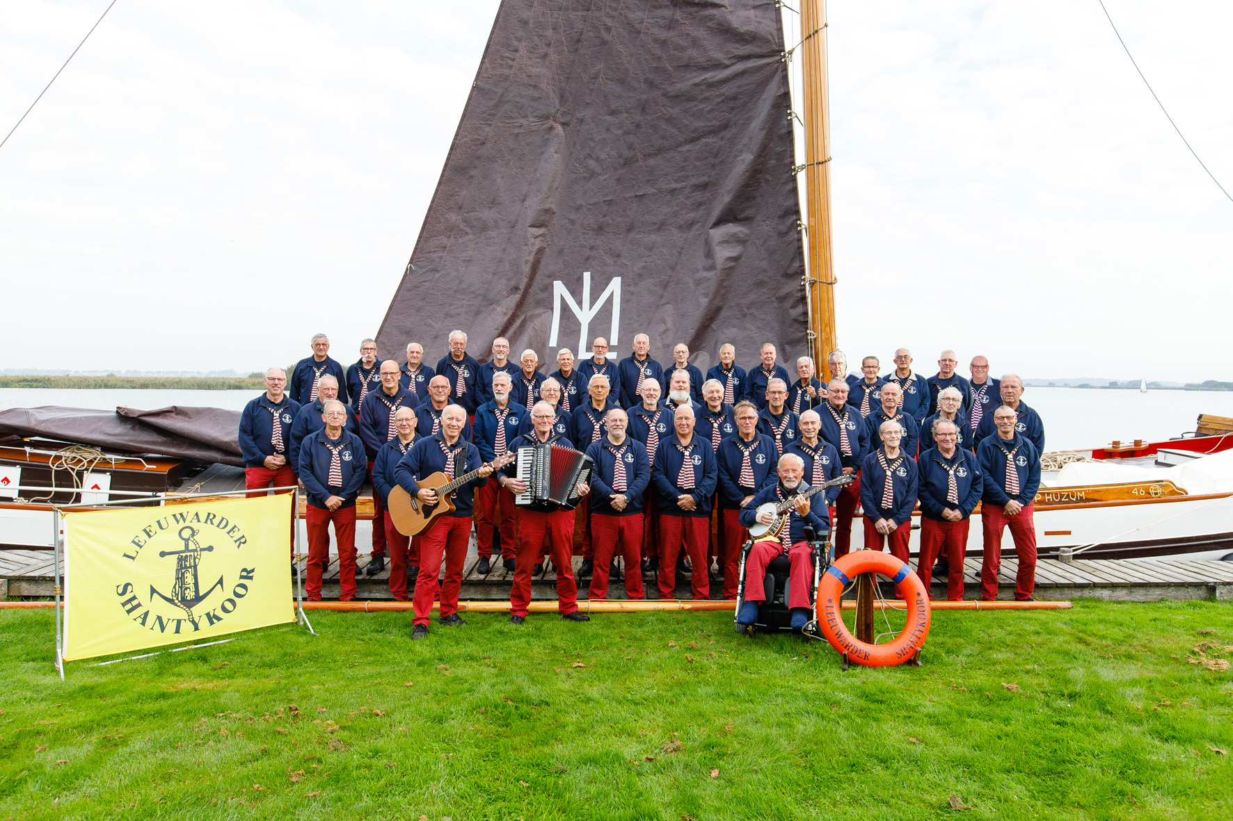 Internationaal GJ Shantyfestival in Leeuwarden, Friesland