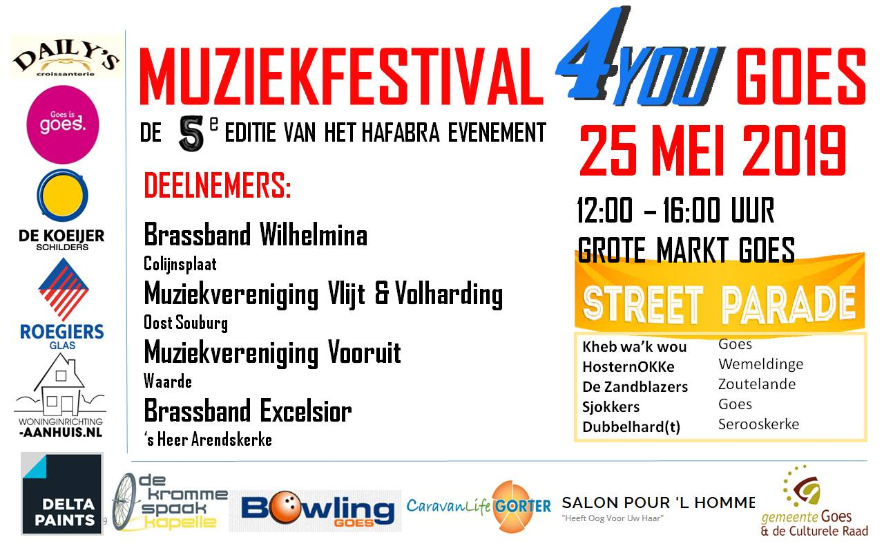 Muziekfestival 4You Goes in Goes, Zeeland