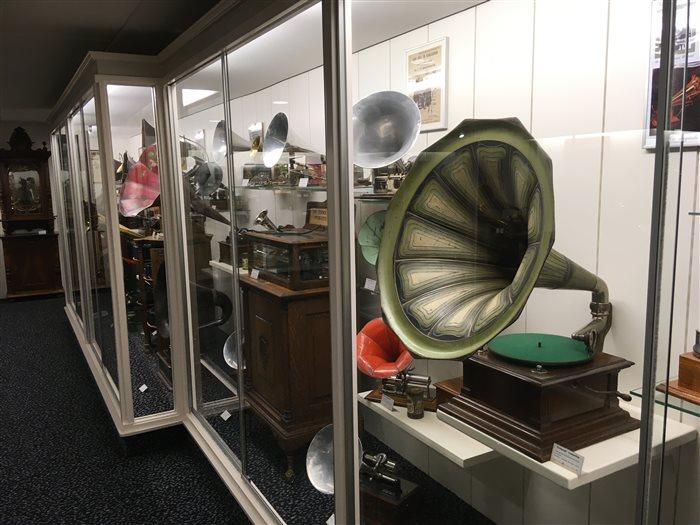 Grammofoonmuseum in Nieuwleusen, Overijssel