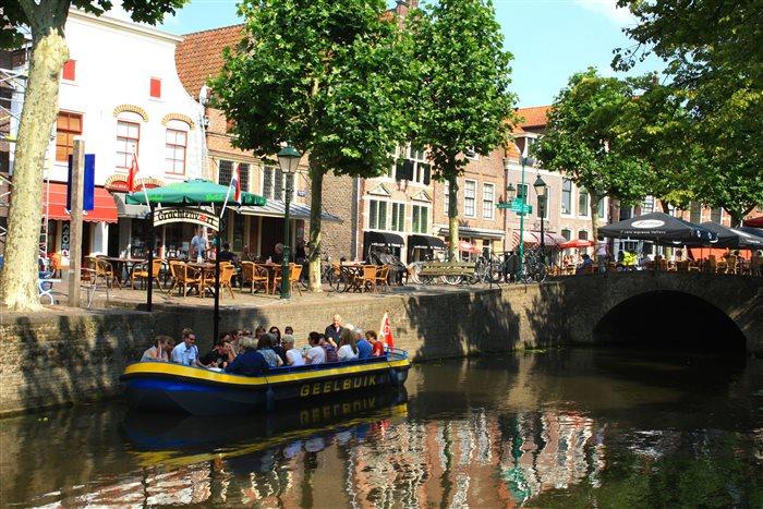 Grachtenvaert Oudewater in Oudewater, Utrecht