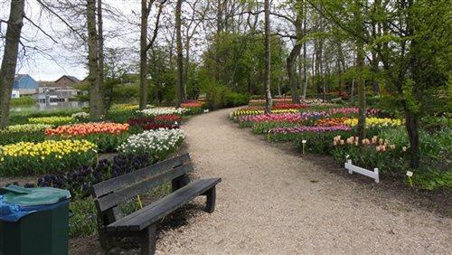Poldertuin Anna Paulowna in Anna Paulowna, Noord-Holland