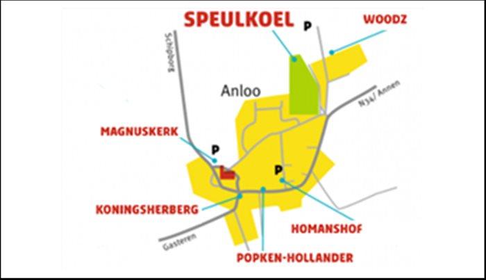 Openluchttheater de Speulkoel in Anloo, Drenthe