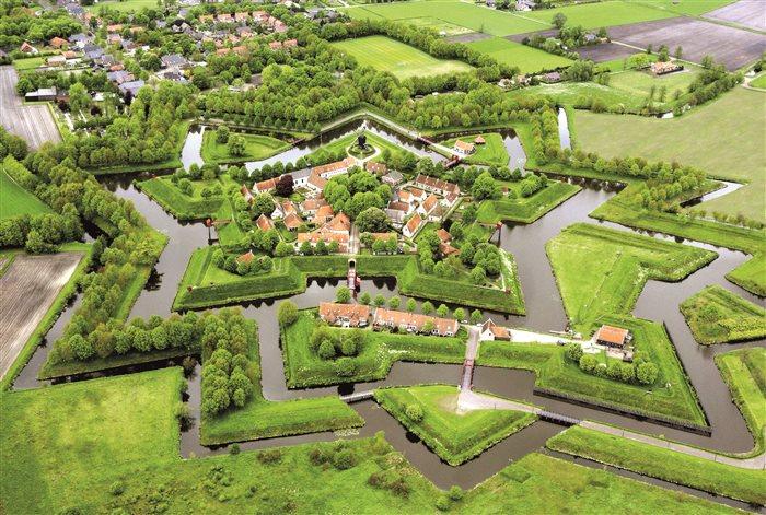 Vesting Bourtange in Bourtange, Groningen