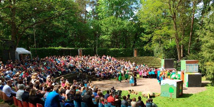 Natuurtheater Oisterwijk in Oisterwijk, Noord-Brabant