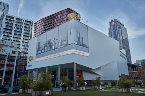 Pathé Schouwburgplein in Rotterdam, Zuid-Holland