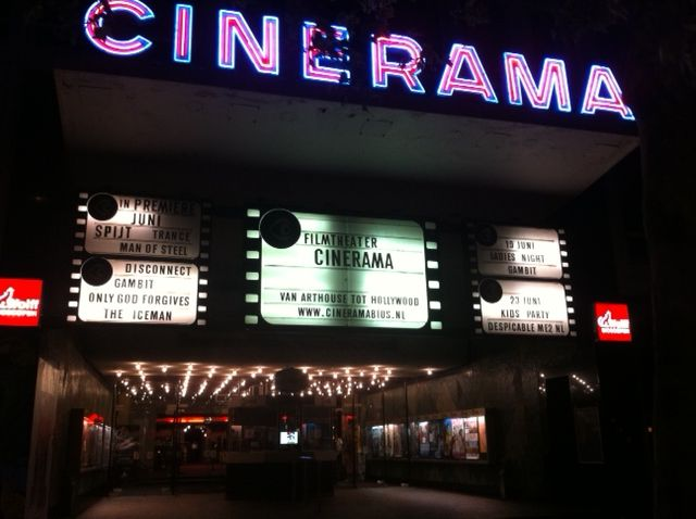 Cinerama Filmtheater in Rotterdam, Zuid-Holland