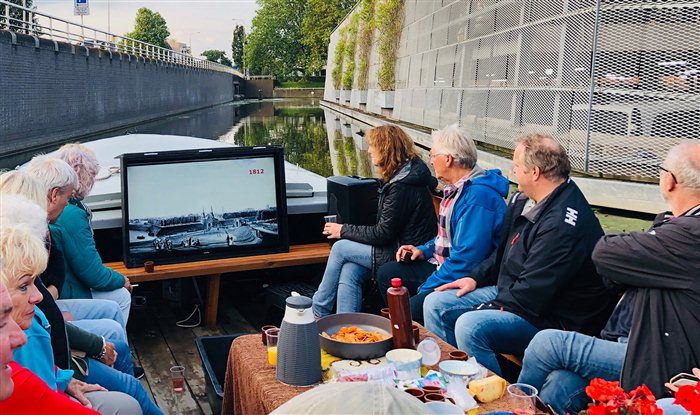 Rondvaart Praamverhuur Leeuwarden in Leeuwarden, Friesland