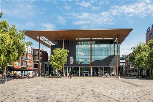 Fries Museum in Leeuwarden, Friesland
