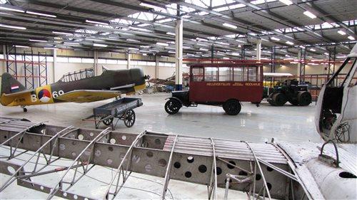 Nederlands Transport Museum in Nieuw-Vennep, Noord-Holland