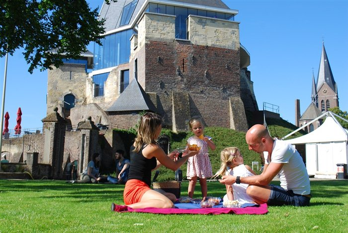 Kasteel De Keverberg in Kessel, Limburg
