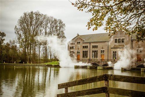 Het Woudagemaal in Lemmer, Friesland