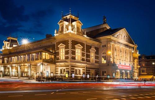 Het Concertgebouw in Amsterdam, Noord-Holland