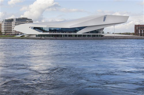 Eye Filmmuseum in Amsterdam, Noord-Holland