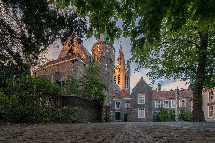 Museum Prinsenhof Delft in Delft, Zuid-Holland