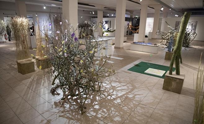 Flower Art Museum in Aalsmeer, Noord-Holland