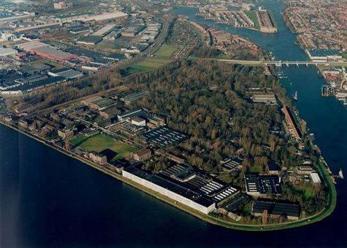 Hembrug Museum in Zaandam, Noord-Holland
