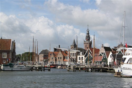 Waterlandsmuseum de Speeltoren in Monnickendam, Noord-Holland