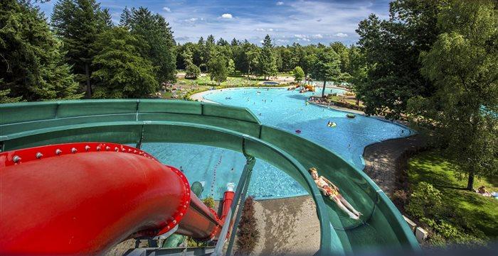 Openluchtbad Boschbad in Apeldoorn, Gelderland