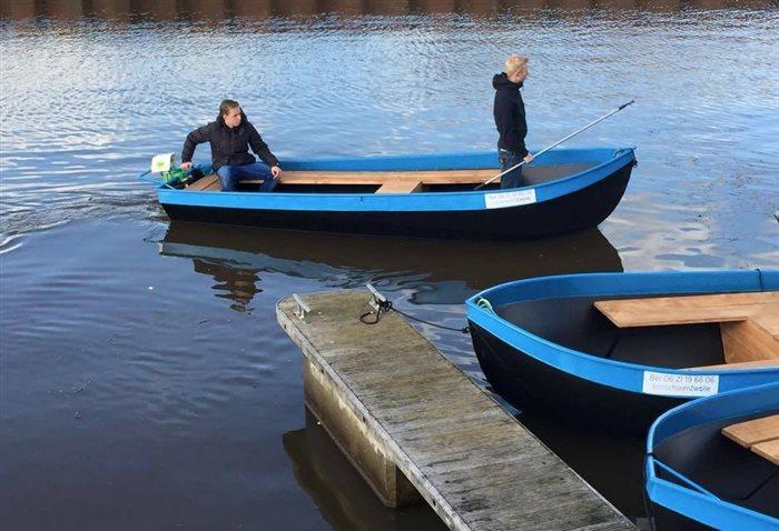 Fluisterboot en sloep huren Zwolle in Zwolle, Overijssel