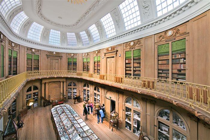 Teylers Museum in Haarlem, Noord-Holland