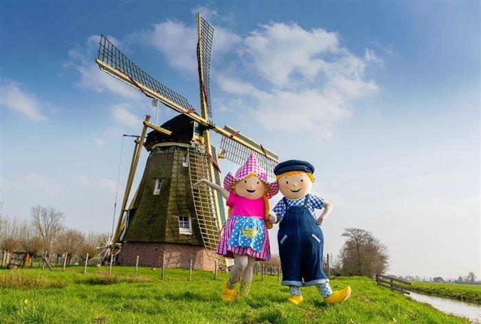 Avonturenboerderij Molenwaard in Groot-Ammers, Zuid-Holland