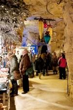 Kerstmarkt Fluweelengrot Valkenburg Limburg
