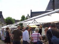 Vlooienmarkt Moergestel in Moergestel, Noord-Brabant