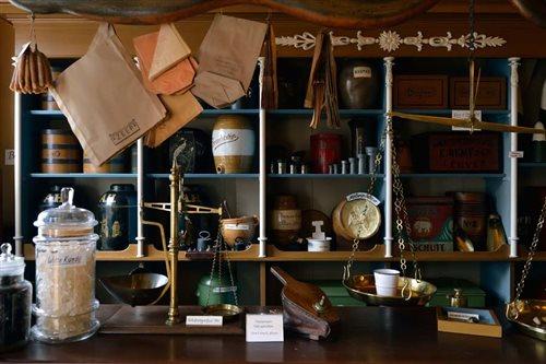 Albert Heijn Museumwinkel in Zaandam, Noord-Holland