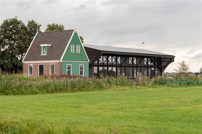 Molenmuseum in Zaandam, Noord-Holland