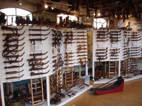 Groninger Schaatsmuseum Sappemeer in Sappemeer, Groningen