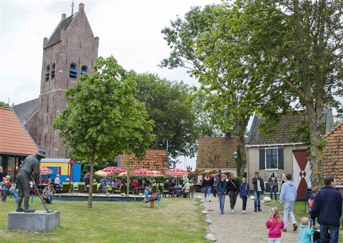 Fries Museumdorp Aldfaers Erf in Allingawier, Friesland