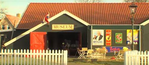 Nobels Nostalgisch Museum in Ballum, Friesland