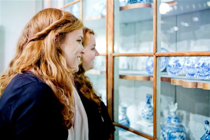 Royal Delft Museum in Delft, Zuid-Holland
