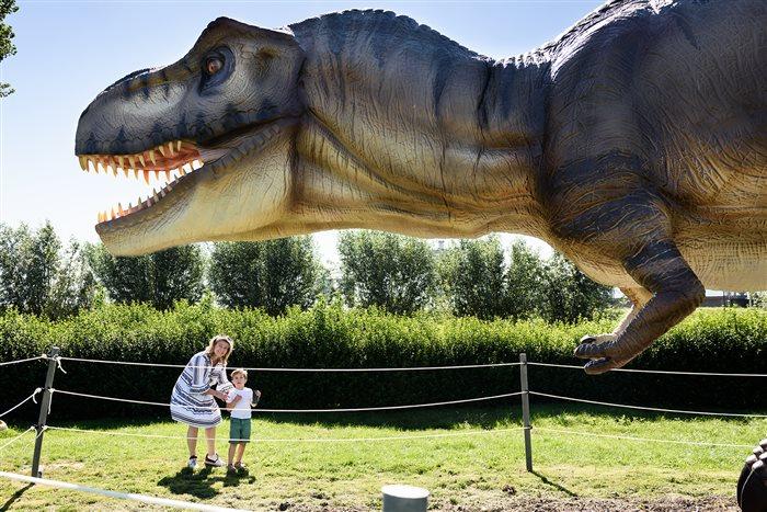 Dino Experience Park - Dinopark en Jurassic Golf in Gouda, Zuid-Holland