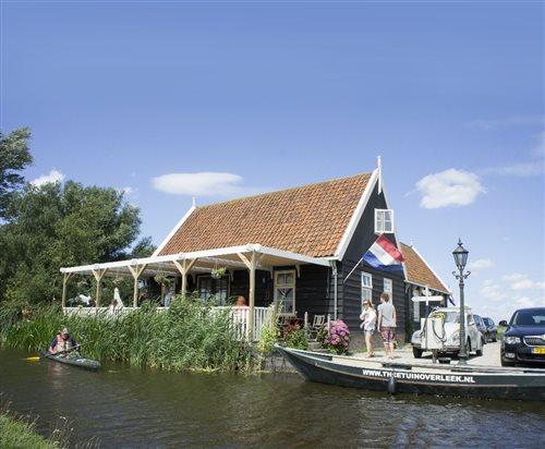 Theetuin en fluisterbotenverhuur Overleek in Monnickendam, Noord-Holland