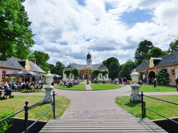 Landgoed Fraeylemaborg in Slochteren, Groningen