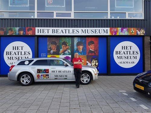 Het Beatles Museum in Alkmaar, Noord-Holland