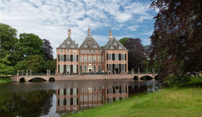 Kasteel Duivenvoorde in Voorschoten, Zuid-Holland