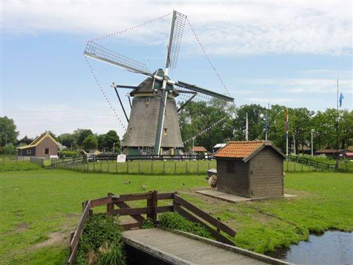 Museum Molen de Vlieger in Voorburg, Zuid-Holland