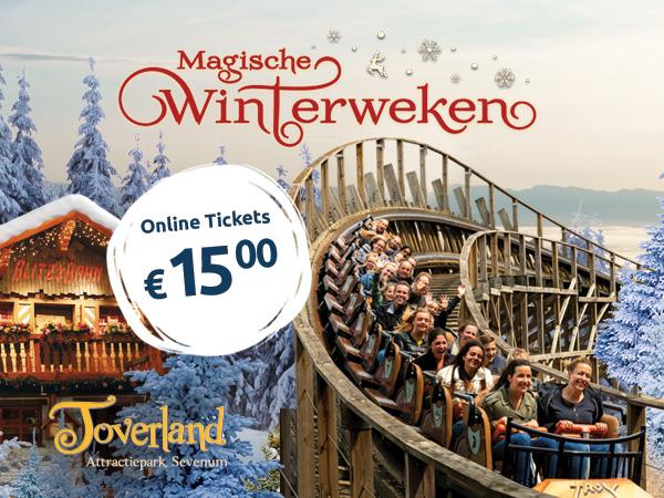 Verwonderend Magische Winterweken in Toverland - Sevenum, Limburg EN-19
