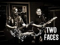 Two faces - Live muziek