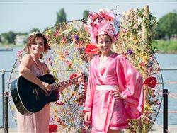 Aalsmeer Flower Festival in Aalsmeer, Noord-Holland
