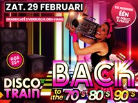 Disco-Train Back To The 70s 80s & 90s