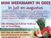 Mini Weekmarkt Gees in Gees, Drenthe